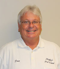 David Mayley, Owner Mayley's Pest Control Services